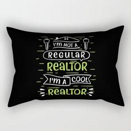 Realtor Selling Houses Real Estate Agent Rectangular Pillow