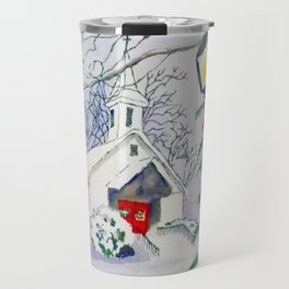 Christmas Church Travel Mug