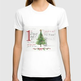FIRST DAY OF CHRISTMAS WEIMS T-shirt