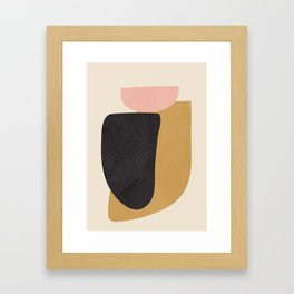 Abstract Shapes 34 Framed Art Print