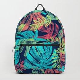 Hawaii Jungle Art Pattern Backpack