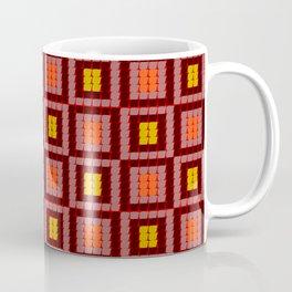 Not a square all over pattern-geometric pattern Coffee Mug