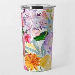 Spring Bouquet in the Garden Travel Mug