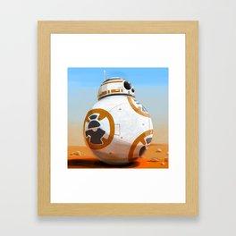 BB-8 Framed Art Print