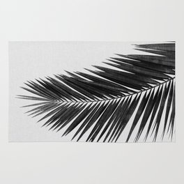 Palm Leaf Black & White I Rug