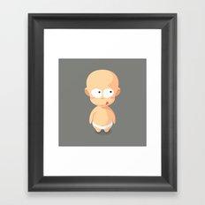 Baby Lemon Framed Art Print