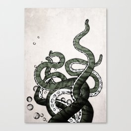 Octopus Tentacles Canvas Print