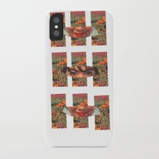 Lady in the Field of Flowers iPhone X Slim Case