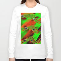 wind Long Sleeve T-shirts featuring wind by donphil