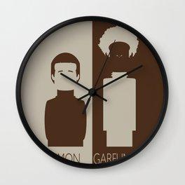 Simon And Garfunkel Wall Clock