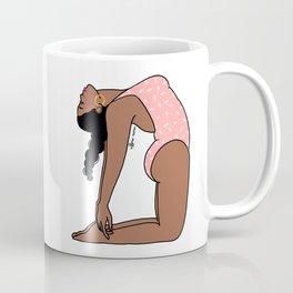 Camel Pose Mimi Coffee Mug
