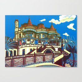 East Cliff Hall (Russell-Cotes Art Gallery & Museum) Canvas Print