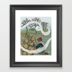 Autumn Day Framed Art Print
