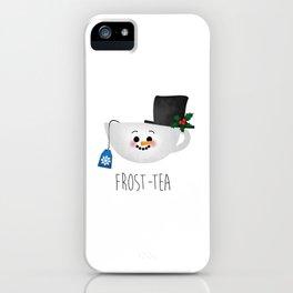 Frost-tea iPhone Case
