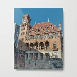 Main Street Station Metal Print