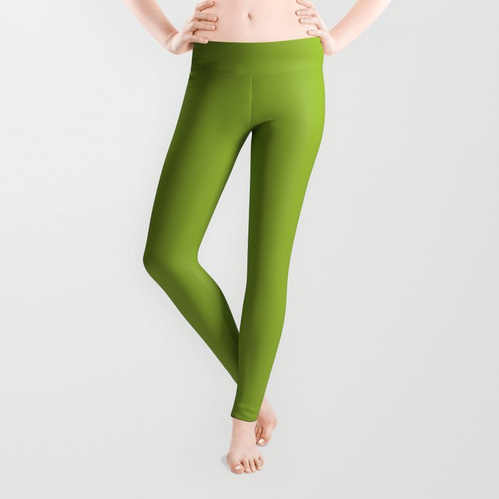 Stowaway ~ Fern Green Leggings