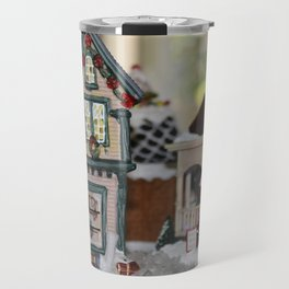 Antiques In Christmas Town Travel Mug