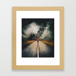 Against All Instinct Framed Art Print