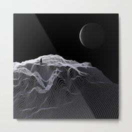 Discoloured Metal Print