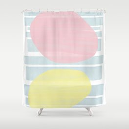 Pastel Vibes #society6 #abstractart Shower Curtain