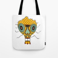 balloon Tote Bags featuring Balloon by Johan Brosow