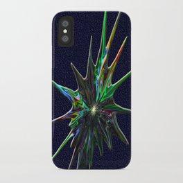 Fractal Splash iPhone Case