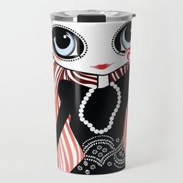 Miss Tresses Travel Mug