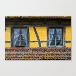 Twin Windows Canvas Print