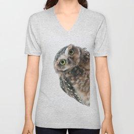 Owl Unisex V-Neck
