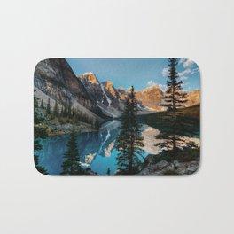 Moraine Lake Canada Bath Mat