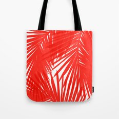 Palms Red Hot Tote Bag