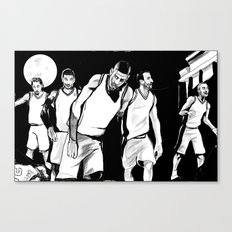 Spurs of the Living Dead Canvas Print