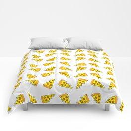 i want pizza Comforters