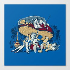 Stoned In Wonderland Canvas Print