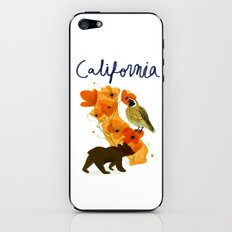 california iPhone & iPod Skin