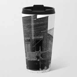 Old Butte Mining Camp in Randsburg, California Travel Mug