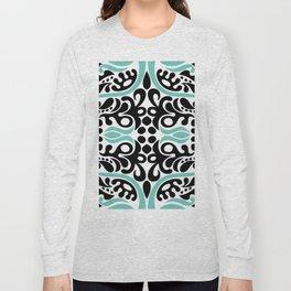 C13D Swirl Pattern Long Sleeve T-shirt