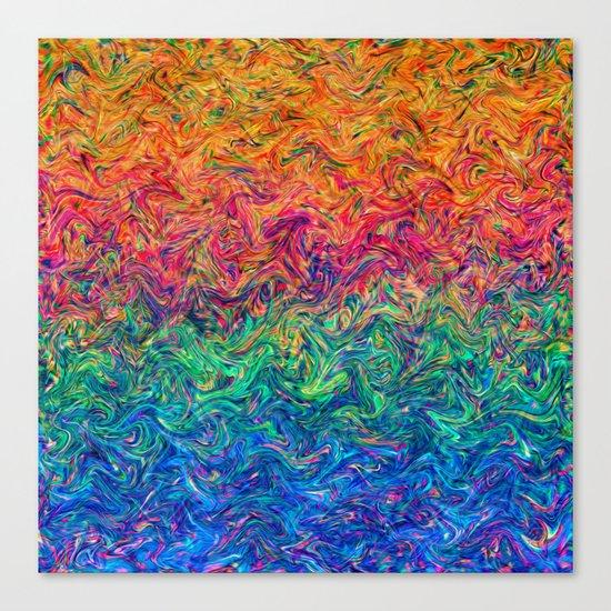 Fluid Colors G249 Canvas Print