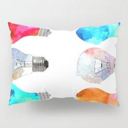 Light Bulbs Pillow Sham