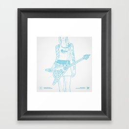 SKETCH Nº018 Framed Art Print
