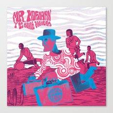 Mr. Hoffmann y La Banda Viajera Canvas Print