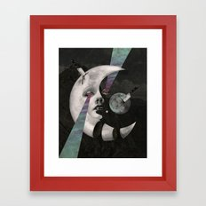 Moonsaw  Framed Art Print