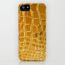 Gold Skin iPhone Case