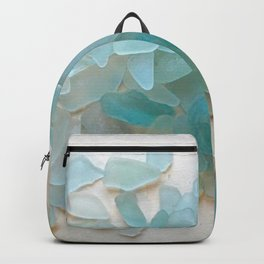 Ocean Hue Sea Glass Backpack