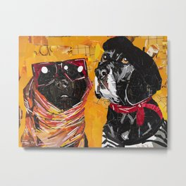 Kentucky & Rodney Metal Print