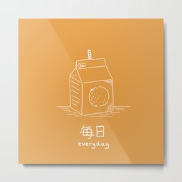 Orange Juice (mainichi) Metal Print