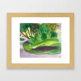 Parc III Framed Art Print