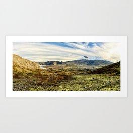 Mt St Helens Panorama Art Print
