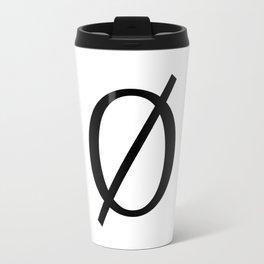 The Empty Set Travel Mug