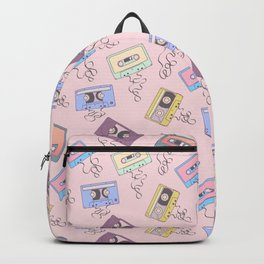 Cassette Pattern Backpack